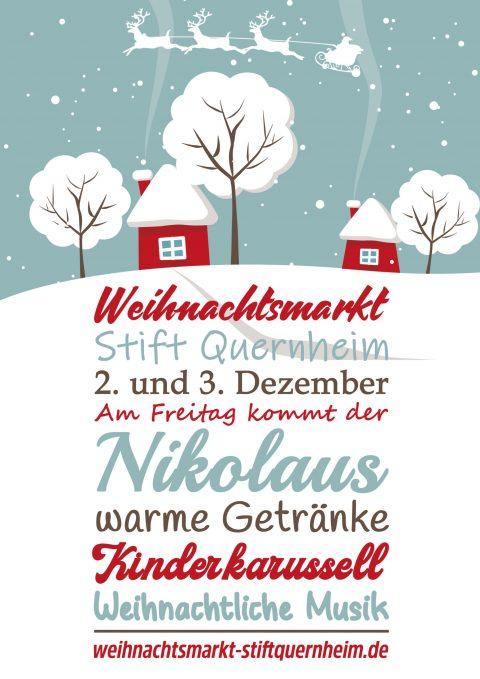 plakat weihnachtsmarkt 2021